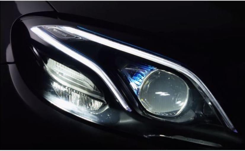 New E-Class Multibeam Headlamps