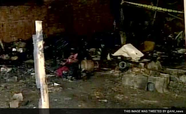 3 Children Die As Fire Burns Down Homes In Delhi's New Usmanpur