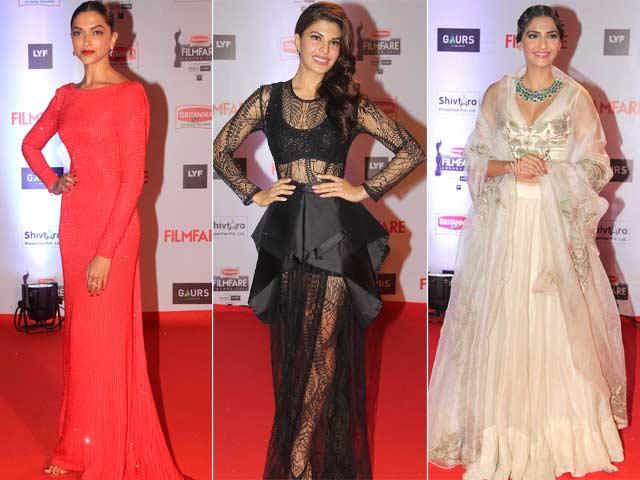 Filmfare Awards 2016: Deepika, Sonam, Jacqueline's Red Carpet Report