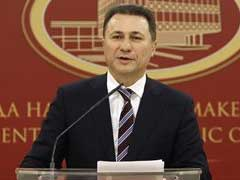 Macedonian PM Offers Resignation For Early Elections