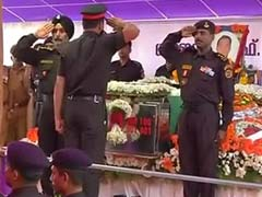 Final Farewell To Pathankot Martyr Lieutenant Colonel Niranjan Kumar