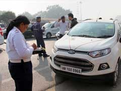 601 People Challaned For Violating Odd-Even Scheme