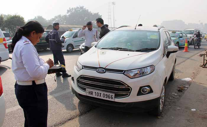 753 People Challaned For Violating Odd-Even Scheme