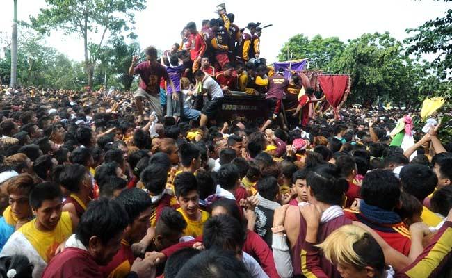 2 Dead, Hundreds Hurt In Philippines Relgious Festival