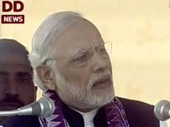 PM Modi Attacks Congress Over 'Lack Of Development' In Assam