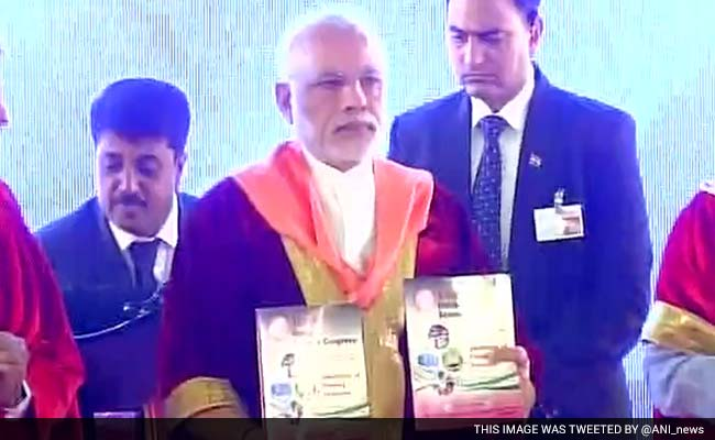 PM Modi Addresses Indian Science Congress In Mysuru: Highlights
