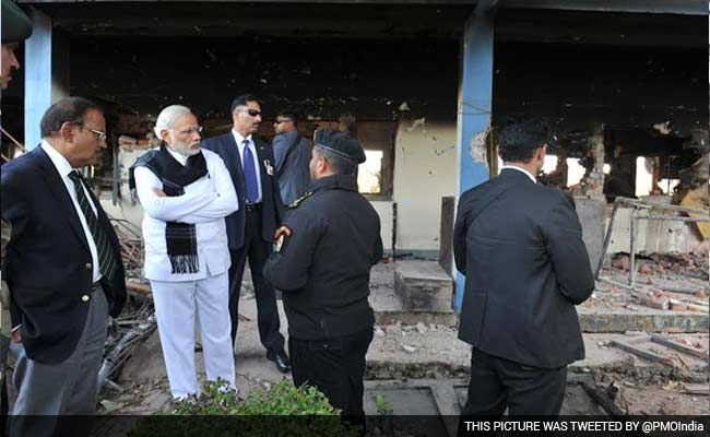 PM Modi's Visit To Pathankot A Mere Photo-Op, Alleges Congress