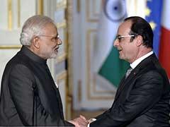 फ्रांस के राष्ट्रपति ओलांद भारत के तीन दिन के दौरे पर