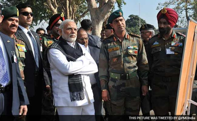 PM Narendra Modi Visits Pathankot Air Base: 10 Developments