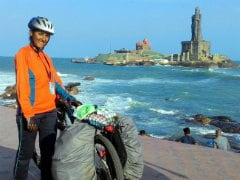 Panvel Girl Cycles 1,800 Kilometers To Kanyakumari, Alone, In 19 Days