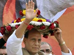 Trinamool Congress Hits Out At Rajnath Singh For His Statement On Malda