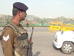 Security Tightened Up In Delhi Ahead Of Republic Day