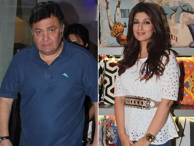 Twinkle Khanna, Rishi Kapoor Had a Funny Exchange About Autos and Trucks