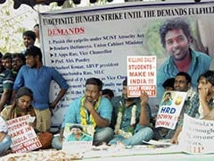 Rohith Vemula's Makeshift Memorial At Hyderabad University Gone: Students