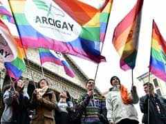 Thousands March In Rome For Gay Rights