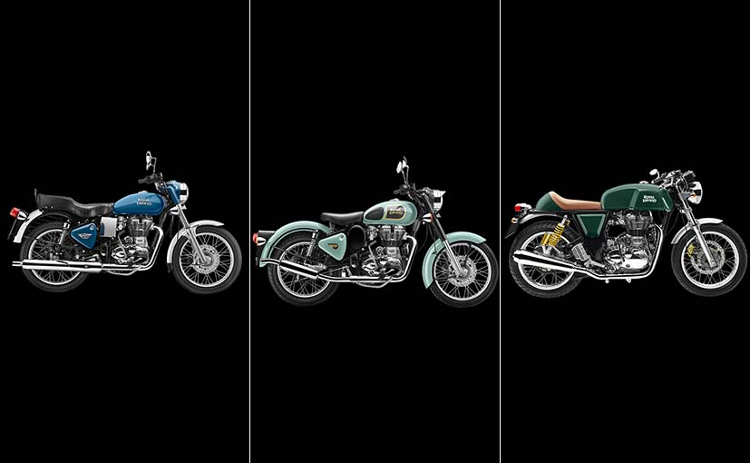 Royal Enfield Motorcycles To Get Nine New Colour Schemes