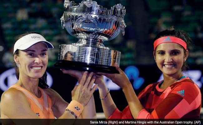 ग्रैंड स्लैम हैट्रिक : बेमिसाल सानिया मिर्जा और मार्टिना हिंगिस ने जीता ऑस्ट्रेलियन ओपन खिताब