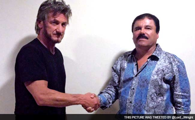 Drug Kingpin Sits For Interview With Sean Penn