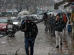 Kashmir Shivers As Minimum Temperature Dips Below Freezing Point