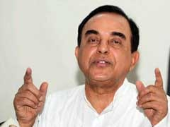 Subramanian Swamy Demands SIT Probe In Sunanda Pushkar's Death