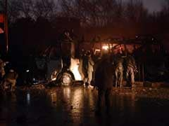 7 Dead As Suicide Bomber Hits Afghan TV Channel Bus