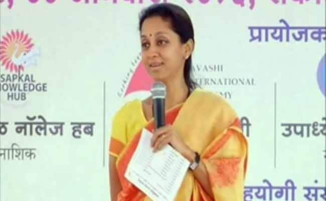 We Talk Saris In Parliament: Supriya Sule's Joke May Crash