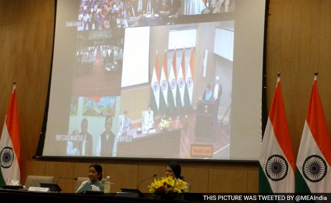 Government Considering Aadhaar Card For Non-Resident Indians: Sushma Swaraj