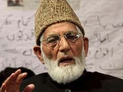 Syed Ali Shah Geelani Suffers Minor Heart Attack, Hospitalised In Delhi