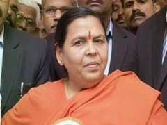 Report On Medicinal Benefits Of Ganga After Monsoon: Uma Bharti