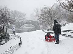 Blizzard Pounds New York, Brings Record Tides In New Jersey