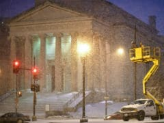 'Life And Death' Blizzard Threatens To Bury US Capital