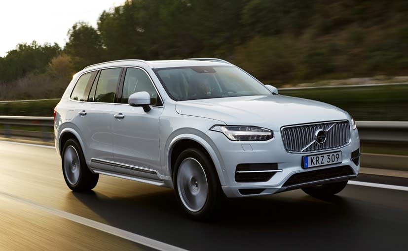 Exclusive: Volvo XC90 Plug-In Hybrid to Launch in India in 2016