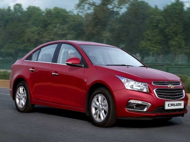 General Motors India Recalls 22 000 Chevrolet Cruze Sedans