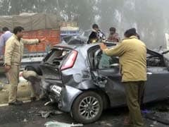 हरियाणा में घने कोहरे की वजह से कम से कम 30 गाड़ियां आपस में टकराईं, चार की मौत