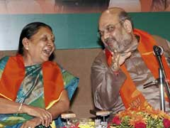 It Was Amit Shah, Not Age, Say Anandiben Supporters A Day After She Quit