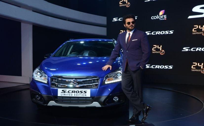 Anil Kapoor Maruti Suzuki S-Cross Limited Edition
