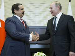 King Of Bahrain In Russia For Talks With Vladimir Putin