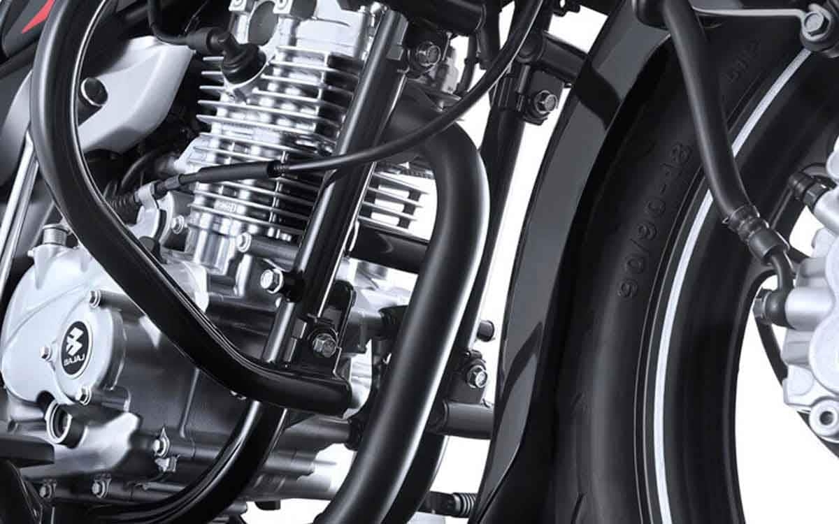 Bajaj V15 double cradle construction for better rigidity