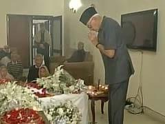 Former Lok Sabha Speaker Balram Jakhar Dies At 92