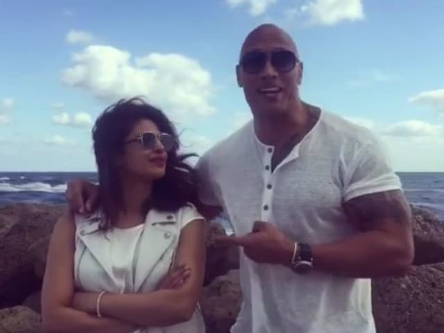 Priyanka chopra dating dwayne johnson