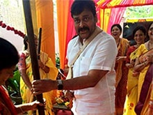 Chiranjeevi Preps For Daughter Srija's Wedding. First Pic Here