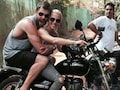 Bullet Raja and Rani: Thor Rides Pillion With His Wife in India