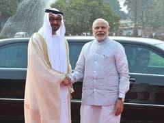Abu Dhabi Crown Prince Accorded Ceremonial Welcome