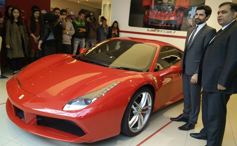 Ferrari 488 Gtb Launched In India Priced At Rs 3 88