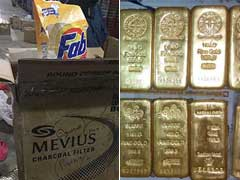 Dirty Trick. 12 Kgs Of Smuggled Gold In Detergent Boxes In Tamil Nadu.