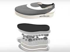Gravity-Defying Shoes To Simulate Moonwalk