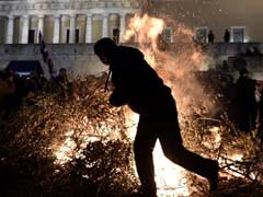 Protesting Greek Farmers Meet PM After Month Of Blockades