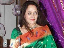 Actress Hema Malini on Land Grabbing Allegations