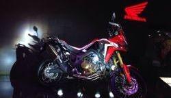 Auto Expo 2016: Honda Africa Twin Showcased in India