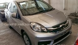 Honda Amaze Facelift Spied; Gets Refreshed Cabin and Exterior Design